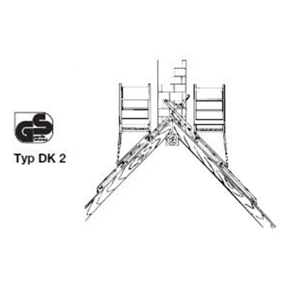 Rusztowanie dachowe Typ DK2