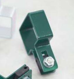 Obejma montażowa końcowa zielona RAL6005